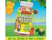 Kẹo Gấu Dẻo Lil Critters Fruit Veggie Gummy Bears