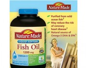 Dầu cá Nature Made Fish Oil Omega-3 1200 mg (375 viên)